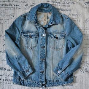 Bad to the Bone Burberry Blue Jean Jacket